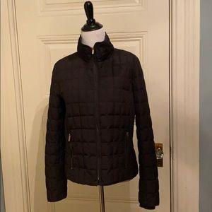 Black JCrew puffer jacket